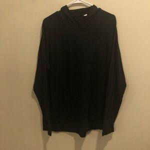 Adidas ultimate pullover hoodie lightweight black